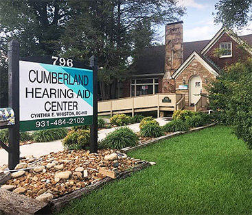 Cumberland Hearing Aid Center front office