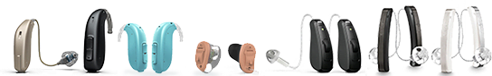 Hearing aids at Cumberland Hearing Aid Center